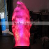 2015 hot selling stage effect fake flame electric fireplace led flame machine/led flame light