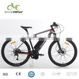 Carbon fibre frame electric mountain bike MTB