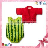 2015 Hot Sale In Summer Watermelon Color Flexible Wholesale Baby Girl Clothes Carter                                                                         Quality Choice