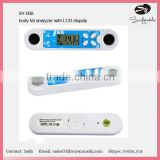 newest product factory supply portable smart body fat analyzer mini skin analyzer diagital