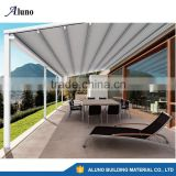 Aluminium Retractable Roofing System/Retractable Shading With Fabric