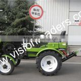 15hp electric start mini tractor SH150 farm tractor with 4*2 wheel driving                                                                         Quality Choice