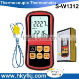 High Accuracy digital Multi-channel Thermocouple Thermometer With K J K T E N R type probes