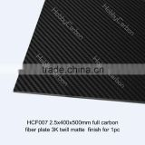 Epoxy Resin Full Carbon fiber sheet/Plate,CNC Cutting Parts for FPV