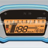 LCD Motorcycle odometer time.oil display