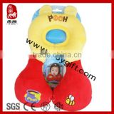 Promotion gift OEM products kid toy gift baby travel pillow comfort baby pillow car seat neck pillow