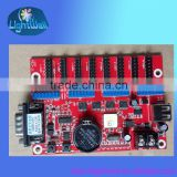alibaba wholesale cheap price rs232 rs385 usb port easy programmable led control board /led display control card for p10 module