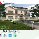 Econova American Standard prefab solar house cheap modern prefab villa with green energy system and cheap