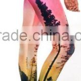 2016 Black Milk leggings digital printing cartoon 3d leggings pretty tree design leggings