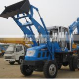 China agricultural WZ25-10 3 point hitch backhoe loader