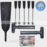 3k surface full carbon fiber professional Chinese dragon boat paddle light weight strong structure paddle CCC-022-1-3K