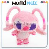 China Made Graceful Pink Alien Girl Promotional Baby Plush Toy