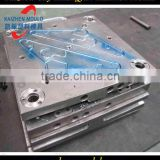 Plastic injection commodity coat hanger mold plastic clothes rack injection mold factory