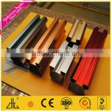 Wow!! orange, red, grey, yellow, blue anodized colored aluminium profile for wardrobe furniture/aluminum profile anodizing color