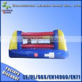 Outdoor inflatable wrestling ring for fighting course
