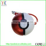 2016 high quality shenzhen factory 8000mah magic ball pokemon power bank Poke Ball Charger