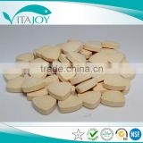 High quality factory nutrition supplement Calcium+Iron+Zinc chewable tablet