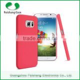China supplier Phone accessories 9 colors quicksand painted PC material all model avalible for Samsung galaxy s6 edge case