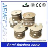 10 Year-experienced, Cheaper price high quality semi-finished coaxial cable RG59/RG6/RG7/RG11 for India market