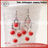 Original classic handmade ceramic jewelry ceramic beads earrings Valentine's Day gift YIWU factory wholesale for OEM / ODM