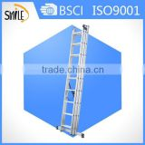 ML609 Aluminium Extension ladder 3 section ladder ladder wall supported extension ladder