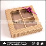 100% Recycle Wholesale Kraft Soap Boxes Window Kraft Packaging Box
