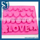 Trade Assurance Food Grade Silicone Ice Cube Trays,Custom Silicone Ice Tray,Silicone Ice Mould Trays