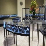 high end jewelry display counter/customized jewelry/watch display counter for luxury shop/