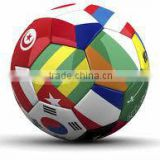 soccer ball / football/high Quality Pakistan Custom Printed Size 5 Leather Football / german football / antique leather football
