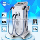 2 in 1 laser hair removal and skin rejuvenation ipl photofacial depilation beauty machine