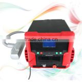 Laser Beauty Equipment Q Switched Permanent Tattoo Removal ND Yag Laser Machine Parts 532nm