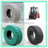 Cheap high performance linde h-60 solid tire, hot wheels rubber tyres, trailer tyre 10inch from alibaba tire factory