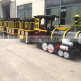 Kids trackless fun train, Mini electric train, Sighseeing electric train, Tourists use train