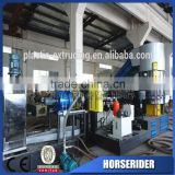 waste plastic abs car bumper granulator pelletizing recycling line/abs car bumper scraps grinding recycling plant