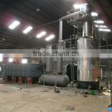 DAYI waste tyre/plastic biodiesel recycling machine/used tire pyrolysis plant