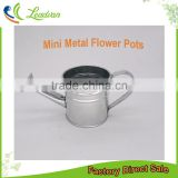 good quality mini not coated indoor square metal flower pots and planters for home & garden deco