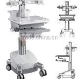 Powered Mobile Cart Medical Trolley workstation