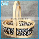 natural storage basket made by water-hyacinth bath toy organizer basket popular in Korea