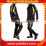Custom hot sale top qaulity long sleeve quick dry polyester training soccer jerseys creat football uniform