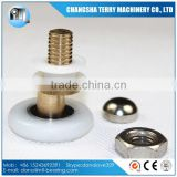 25mm Round shower room sliding door roller bearing