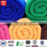 Microfiber fabric Face Hand Bath Sheet Towel Cloth Plain Soft Travel /microfiber drying towel