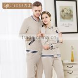 Top Grade Qianxiu Autumn Sport Tracksuit Family Set Men Women Thermal Cotton Couples Nightwear
