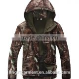 tad shark skin soft shell jacket Water Proof Anti-UV Outdoor Photoing Real Tree Baggy military jacket
