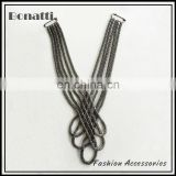 2013 latest fashion garment chain tassels chain for dress