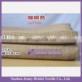 BPL003C coffee burlap fabric table runner for wedding