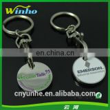Promotional Euro Trolley Coin Keyrings