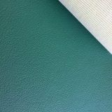 FR BS5852 artifical synthetic faux  vinyl PVC leather for commercial upholstery-chall