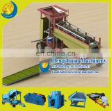 Hengchuan Manufacture Customized Design Energy-saving Rotary Gold Trommel With Grass Sluice Box