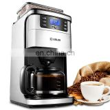 Reliable quality home espresso coffee machine with grinds coffee beans function