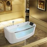 Foshan factory massage summer whirlpool indoor bathtub jacuzzi size 1.6m and 1.7m